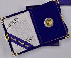 1994-W $5 Gold American Eagle, OGP