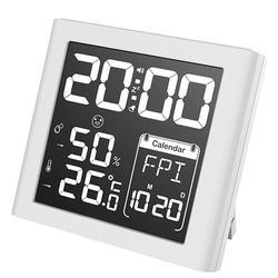 Negative Display Digital Alarm Clock Weather Station