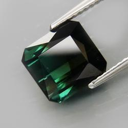 Premium eye clean 3.42ct bi-color Tourmaline