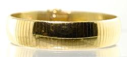 Beautiful 14K Flex Bangle