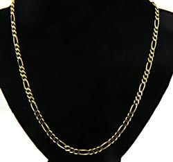 14kt Figaro Link Chain Necklace