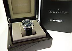Zenith El Primero Chrone with Black Dial Watch