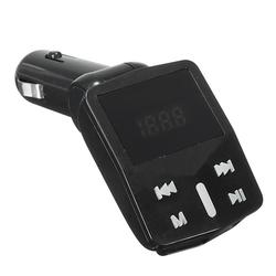 1.2in LED Display Car Kit MP3 Player FM Transmitter