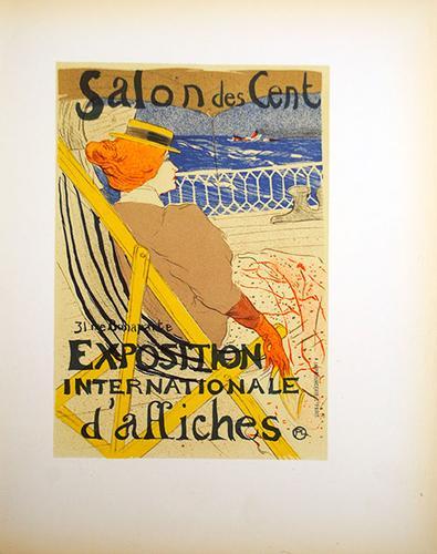 Toulouse Lautrec, Salon Des Cent