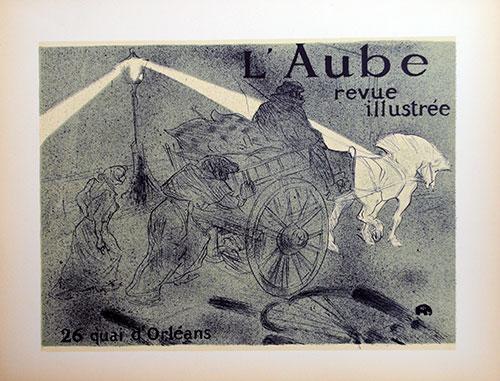 Toulouse Lautrec, l'Aube