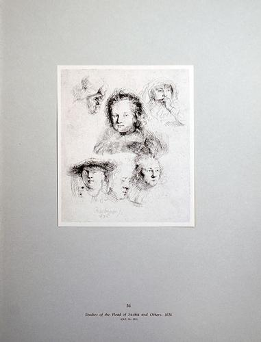Rembrandt, Studies Of The Head Of Saskia