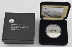 2009 Central Bank of Ireland Silver Proof 10 Euros - With Box & Paper
