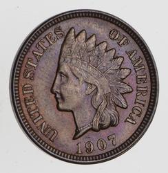 1907 Indian Head Cent - Choice