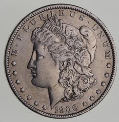 1900-O Morgan Silver Dollar - Near Uncirculated