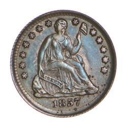 1857 Seated Liberty Half Dime - Choice