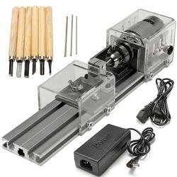 Mini Lathe Beads Machine Wood Working Polishing Drill