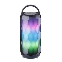 Portable LED Colorful Wireless Bluetooth Speaker TF