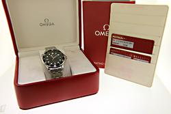 Omega Seamaster Diver Wave Dial Watch 41mm