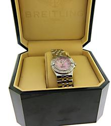 Breitling Starliner Steel on Bracelet with Diamond Dial