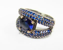 Elegant Classic Jewelry Design Hancrafted 925 S Ring