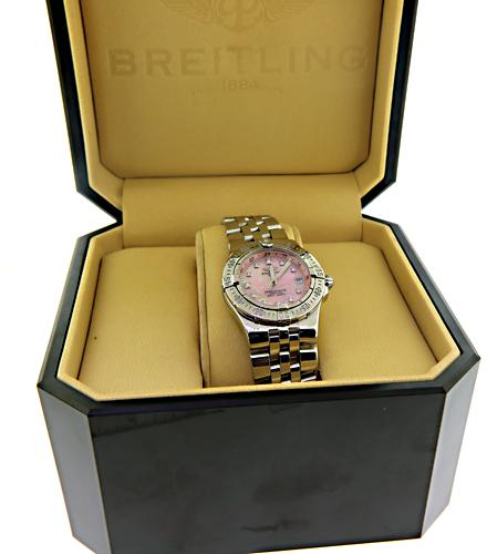 Breitling Starliner Steel on Bracelet with Diamond Dial