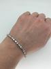 Platinum Approximately 4.00CTW Diamond Tennis Bracelet