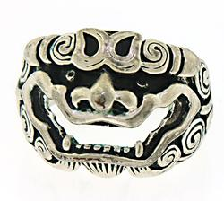 925 Sterling Silver Demon Ring
