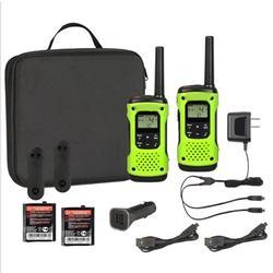 Radio Waterproof Green Case With Sleeve 35mile Range