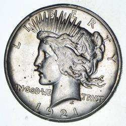 1921 Peace Silver Dollar - Choice