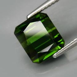 Superbly cut 3.33ct open color summer green Tourmaline