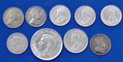 Group of Canada Silver Coins