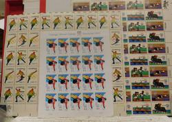 Stamp sheets, 1976/1980/2010 Olympics  $22.80 face
