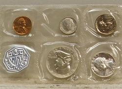 1960 Silver PROOF Set, Large Date