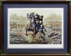 Don Stivers, 'Sergeant's Valor' Hand Signed Lithograph