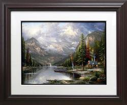 Thomas Kinkade, Mountain Majesty