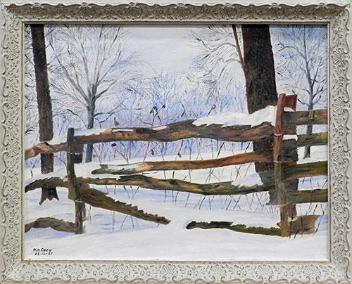 Matt Clary, Winter Time In The Woods