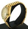 Rolex Ladies 18kt Emerald and Diamond Bezel Watch