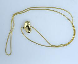 Desirable Andrea Cummings 18KT Gold Heart Necklace