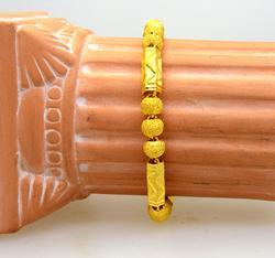Lavish 24K Gold Bracelet