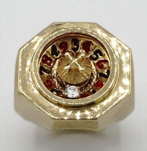 Men's 14KT Gold Diamond Ring