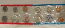 1970 Silver Mint Set, Uncirculated, Govmt Pkg, 40% Half