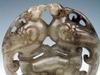 Jade Carved Old Nephrite Pendant