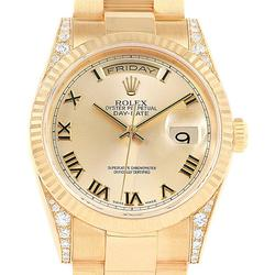 Gents 18K Yellow Gold Rolex Day-Date