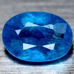 Sapphire blue 2.14ct untreated Apatite