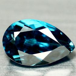 Ravishing true London blue 4.19ct Topaz