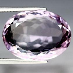 Stunning pink and gold 16.64ct untreated Ametrine