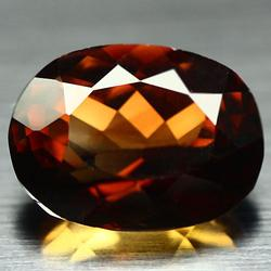 Rich whiskey red 12.73ct Brazilian Topaz
