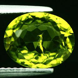 Rich kiwi green 3.20ct untreated Peridot