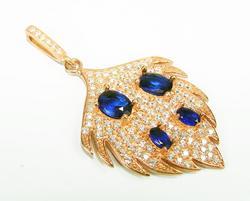 Splendid Art & Craft Handmade Rose Gold 925 S Pendant