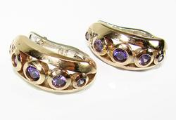 Alluring Gems Attractive Design Handmade 925 S Earrings