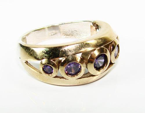 Alluring Gems Attractive Design Handmade 925 S Ring