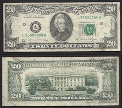 $20 1981-A Partial Offset FRN
