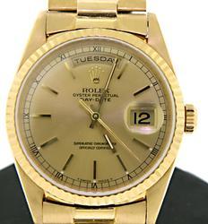 18kt Rolex Day Date President Watch