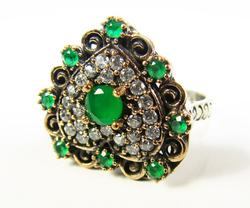 Fascinating & Elegant Intricate Details 925 S Ring