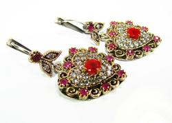 Fascinating & Elegant Intricate Details 925 S Earrings